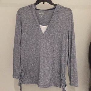 NWT Style&Co Sport Women's Pull Over Hoodie 1x